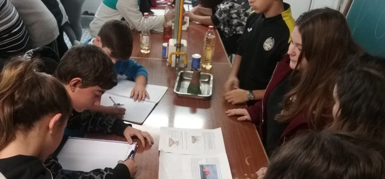 Alumnos de Secundaria comparten ciencias en la asignatura de Cultura Científica