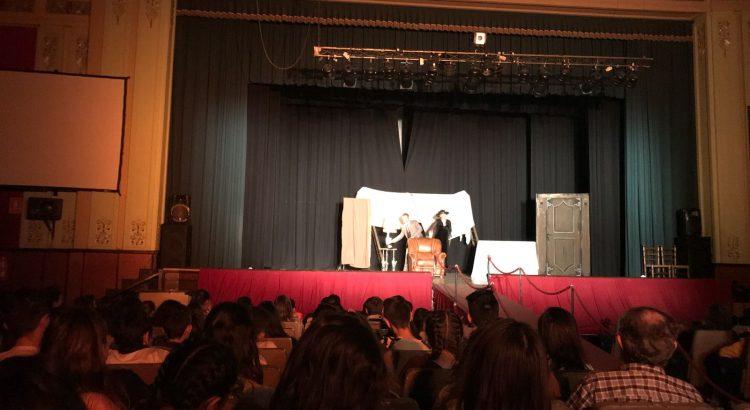 Los alumnos de Secundaria disfrutan del teatro en inglés