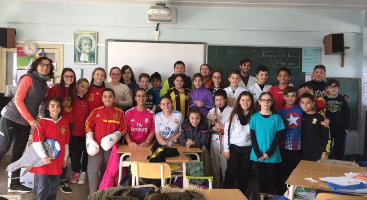 Los alumnos y profesores de Primaria se disfrazan de deportistas