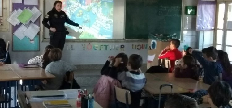 Los alumnos de 3º de Primaria empiezan el Curso de Educación Vial