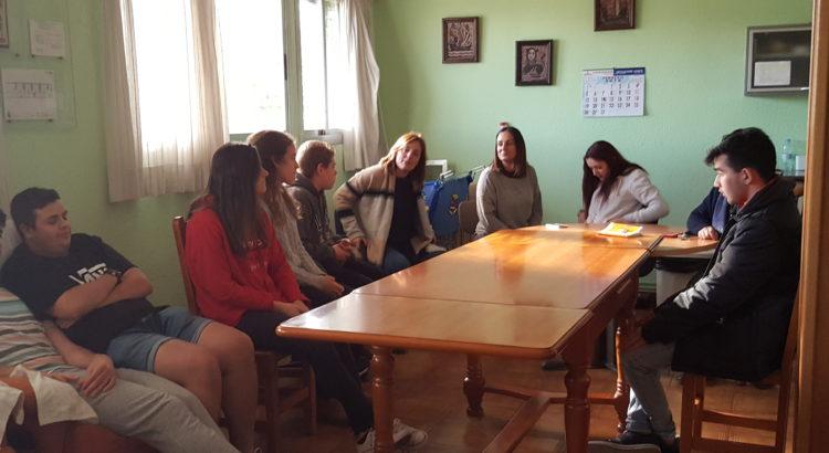 Visita del grupo de Gente Pequeña III al Centro de Acogida Projecte Obert