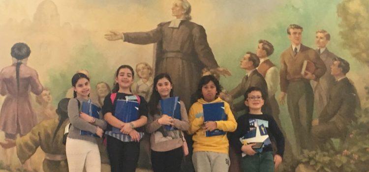 Alumnos de 5º y 6º de Primaria y de Secundaria participan en los Juegos Matemáticos del Colegio La Salle