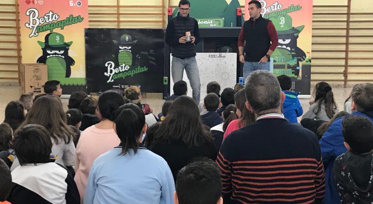 La Escuela Profesional ayuda a Berto Zampapilas