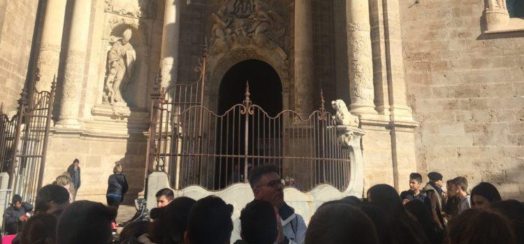 Los alumnos de 2º ESO visitan la Valencia Histórica