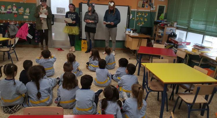 Cuentos en el aula de 3 años