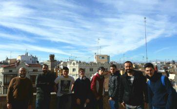 Los alumnos de FP Básica visitan el centro histórico de Valencia