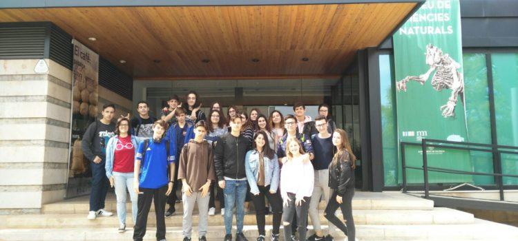 Salida de alumnos de 4º ESO al Museo de Ciencias Naturales