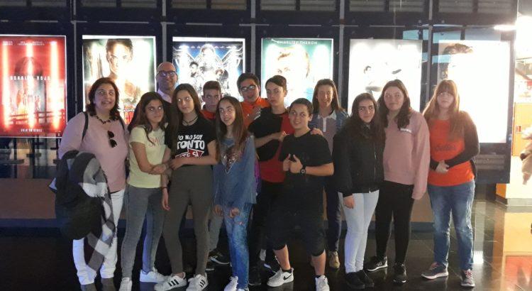 Al cine con los alumnos de 1º de ESO