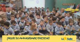 En la Escuela Infantil Desamparados celebran el 30 aniversario de PROYDE
