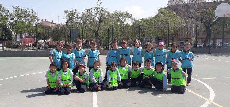 Fútbol en la clase de 5 años