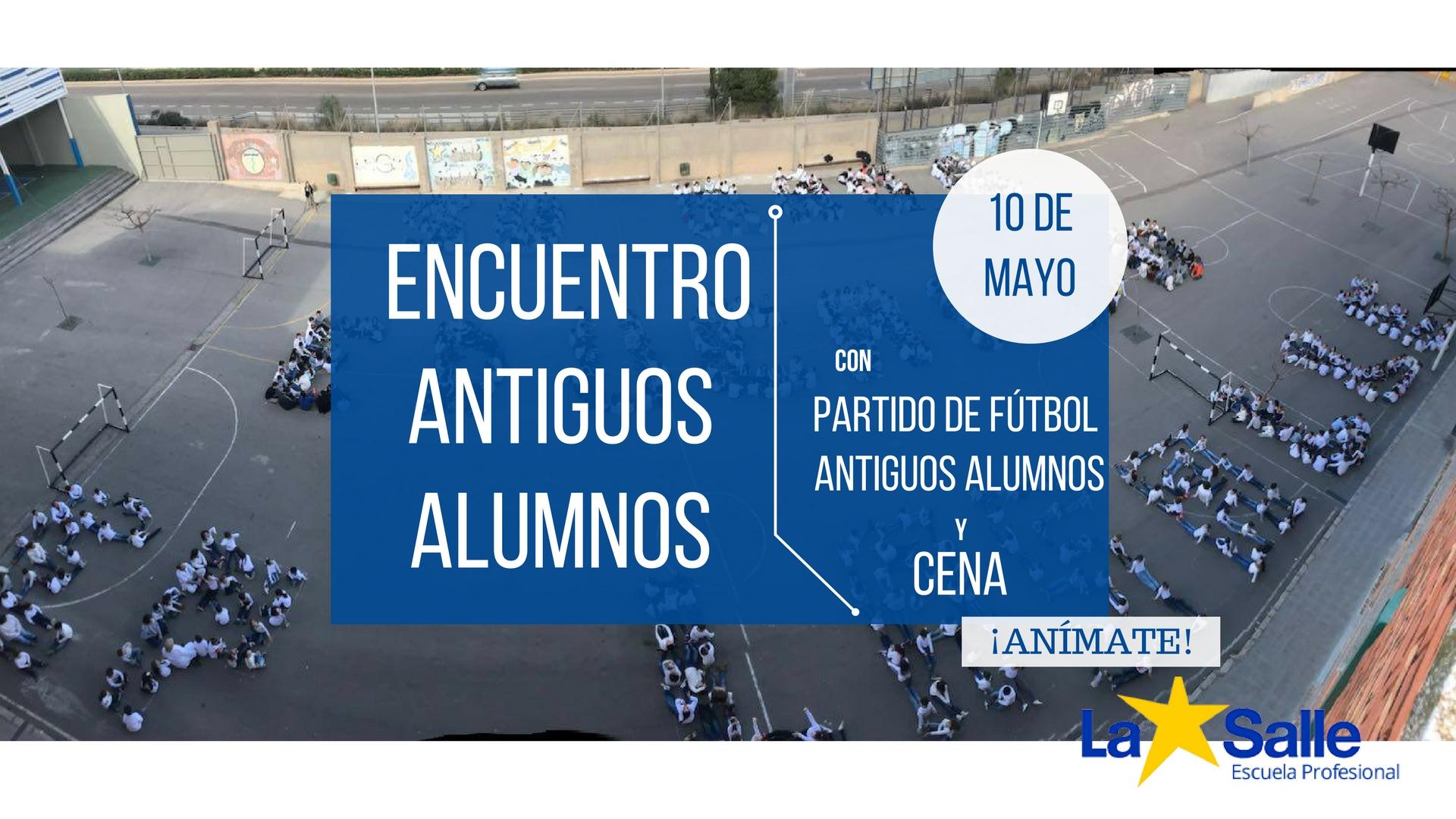 Encuentro de antiguos alumnos el próximo 10 de mayo