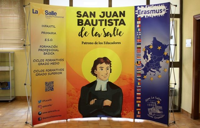Todo listo para recibir la visita de nuestros socios Erasmus+