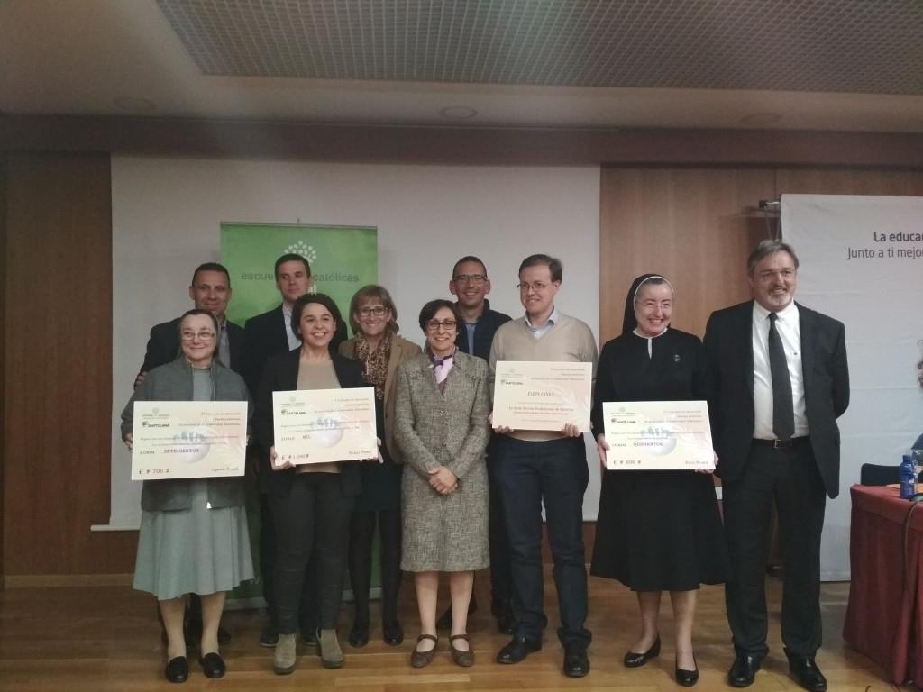 La Escuela Profesional La Salle obtiene un Accésit a la Innovación y Buenas Prácticas de Pastoral Escolar