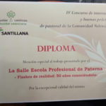Diploma EP La Salle del Concurso Innovación y Buenas Prácticas