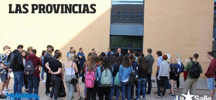 El grupo Erasmus+ conoce 'Las Provincias'