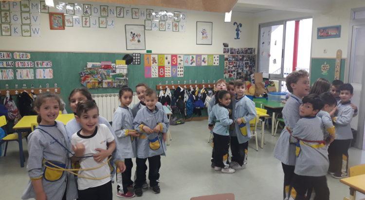Nuestros alumnos de infantil ayudan al monstruo de colores a conocer las emociones