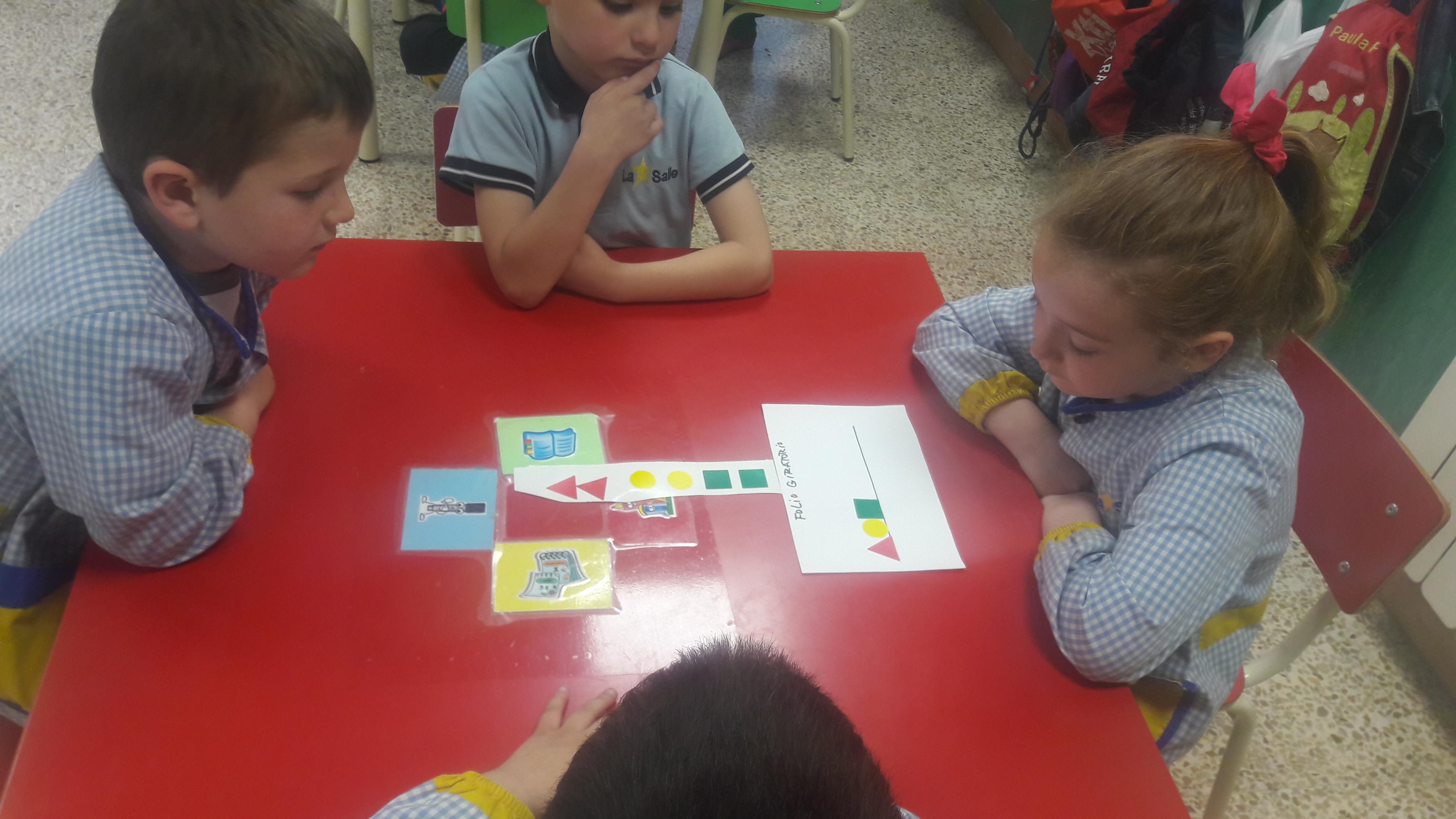 Aprendizaje cooperativo en el Aula de 4 años de la Escuela Infantil Desamparados