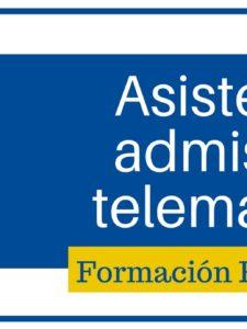 Asistente admisión telemática para Formación Profesional