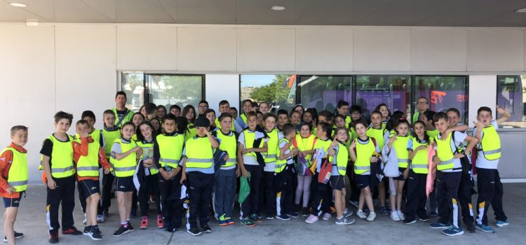 Salida de alumnos de 4º de Primaria a los Hornillos de Quart de Poblet