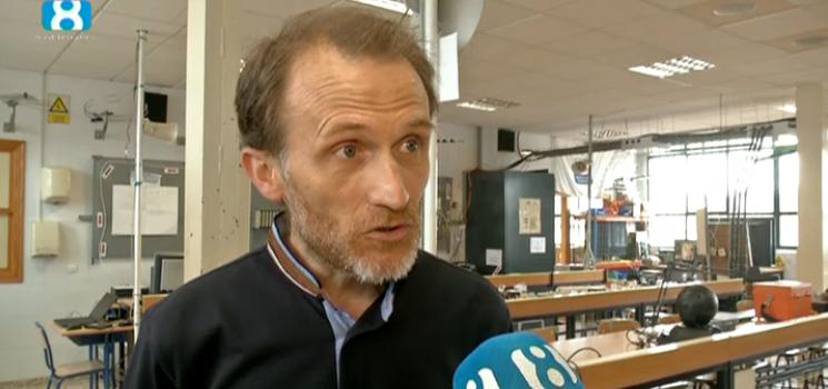 El Director General de la Escuela Profesional La Salle habla en Mediterráneo TV de la situación de los Ciclos Formativos