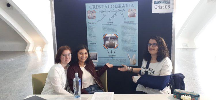 Alumnos de la Escuela Profesional La Salle participan en el concurso de 'Cristalización en la Escuela 2018'
