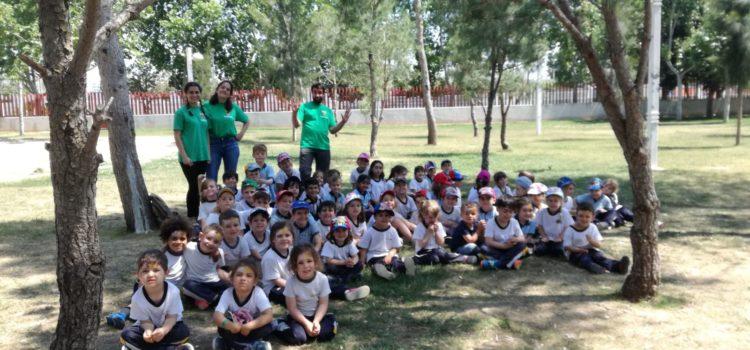 Alumnos de Infantil visitan el Parque de La Canaleta en Mislata