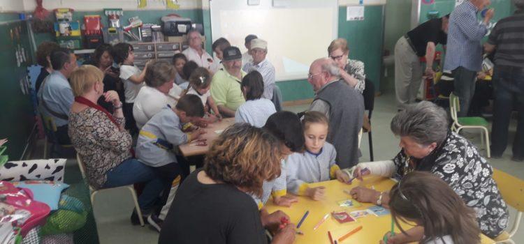 Fiesta de los abuelos en Infantil