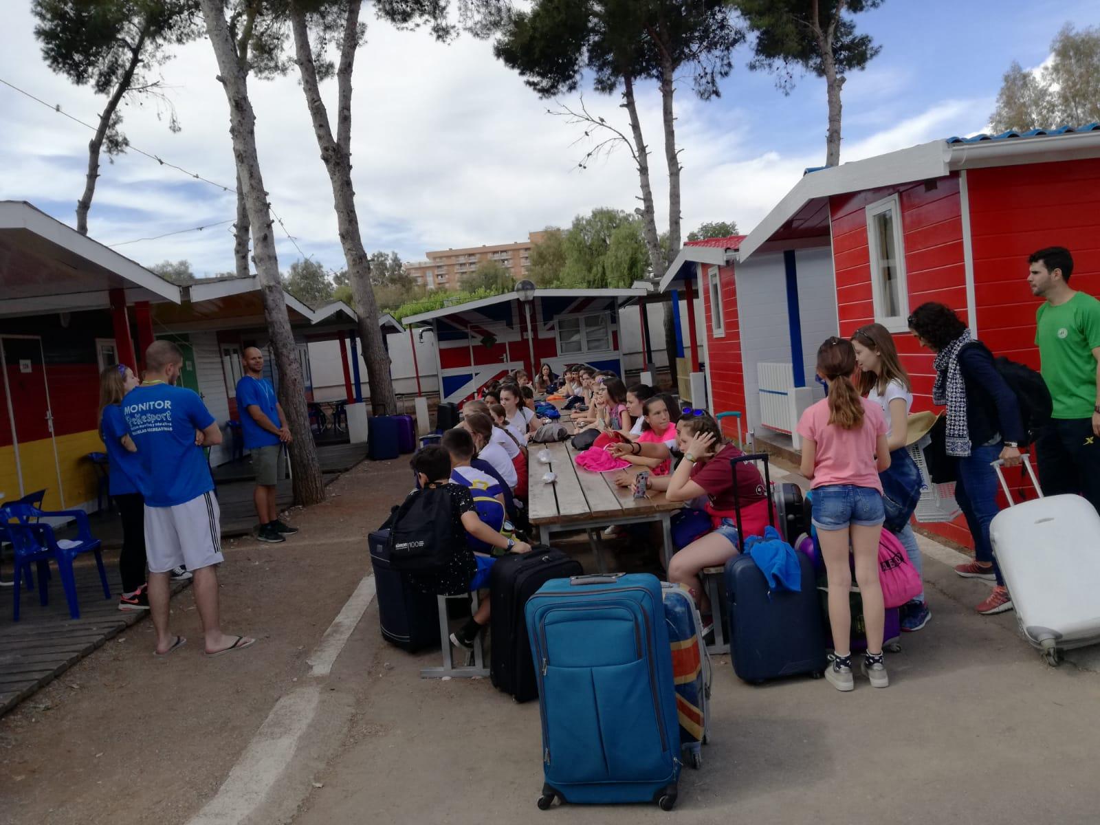 Fin de curso de 6º de Primaria en Oropesa del Mar