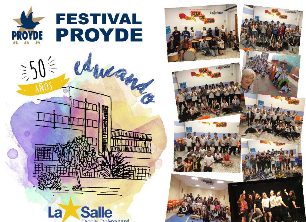 La Escuela Profesional celebra el Festival PROYDE el próximo 25 de mayo