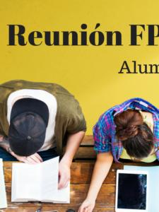 Reunión para alumnos admitidos en Ciclos Formativos de Grado Medio y ESO