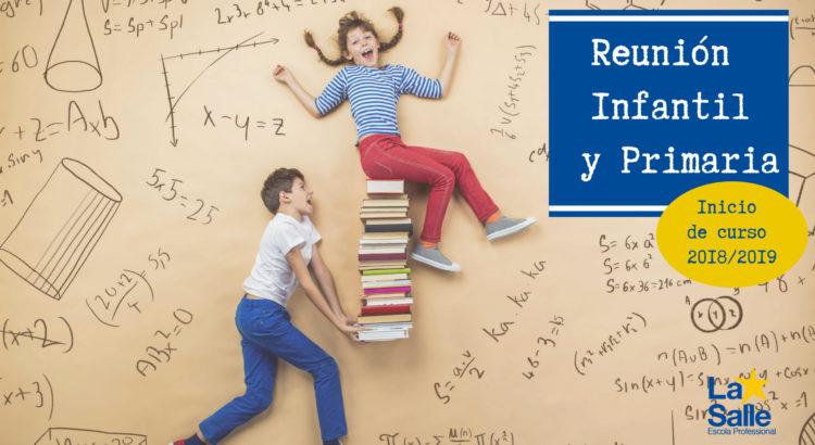 Reunión informativa Infantil y Primaria