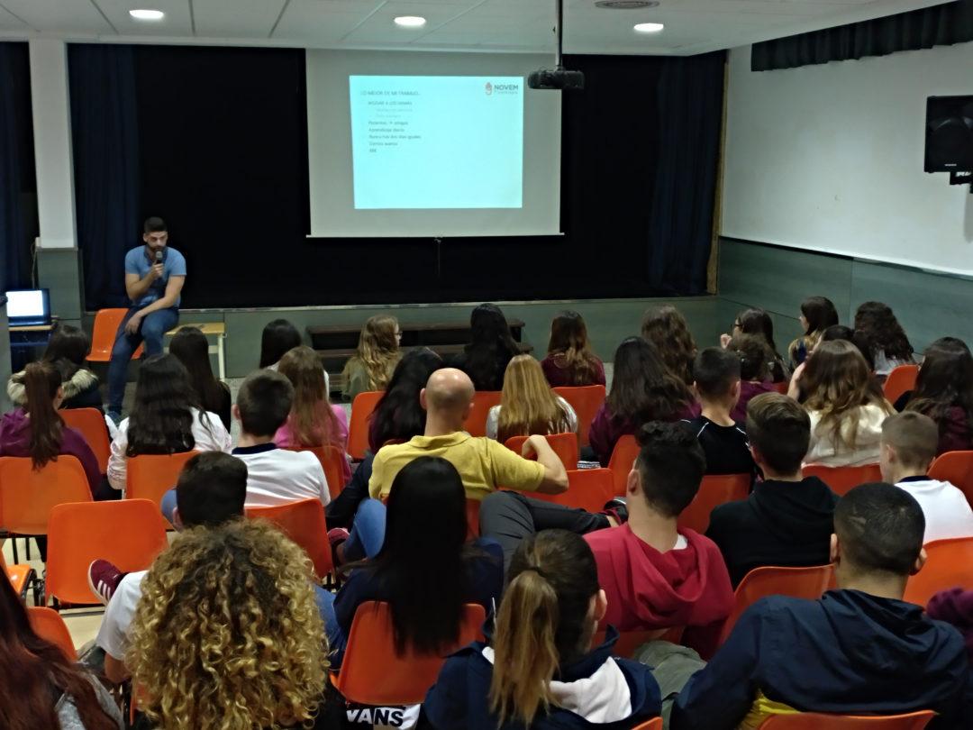 Asambleas profesionales en 4º de ESO