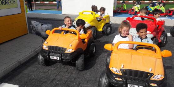 Visita al parque infantil de tráfico Vialdea