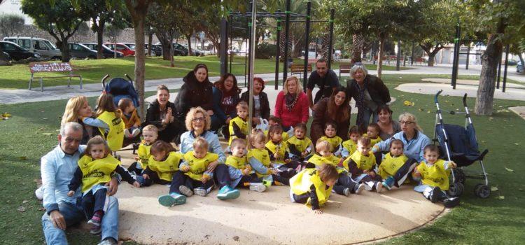Primer ciclo de Infantil visita el parque de la Avenida Europa