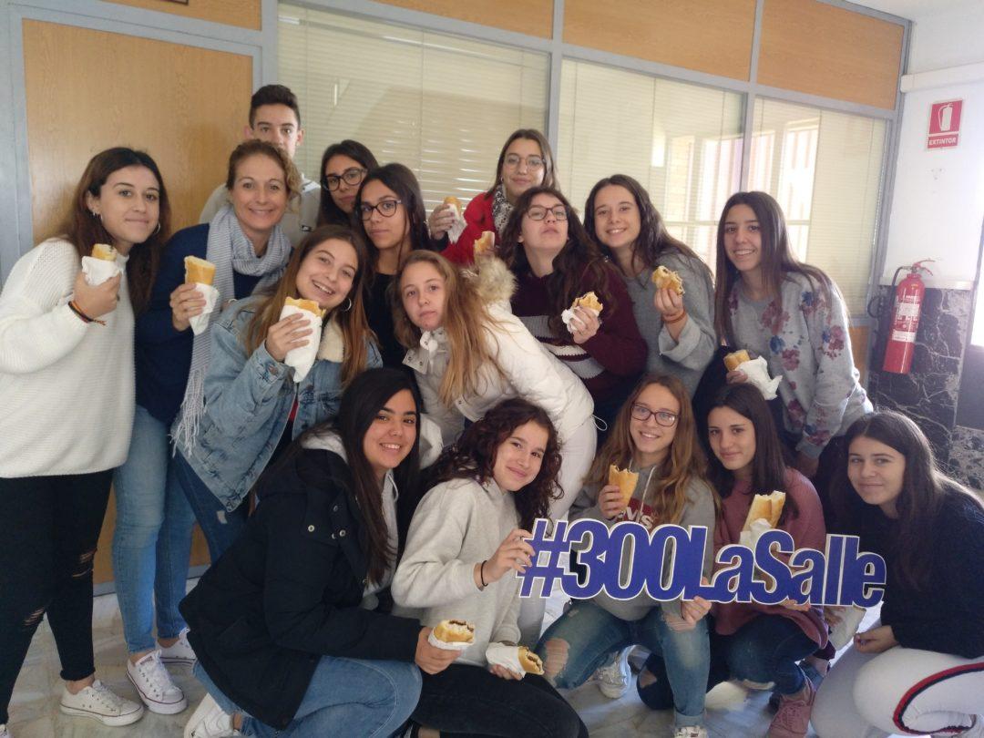Almuerzo solidario en la Escuela Profesional La Salle y en Escuela Infantil Desamparados