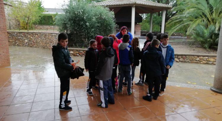 Los alumnos de 3º de primaria disfrutan de su visita a la granja escuela de La Salle Llíria