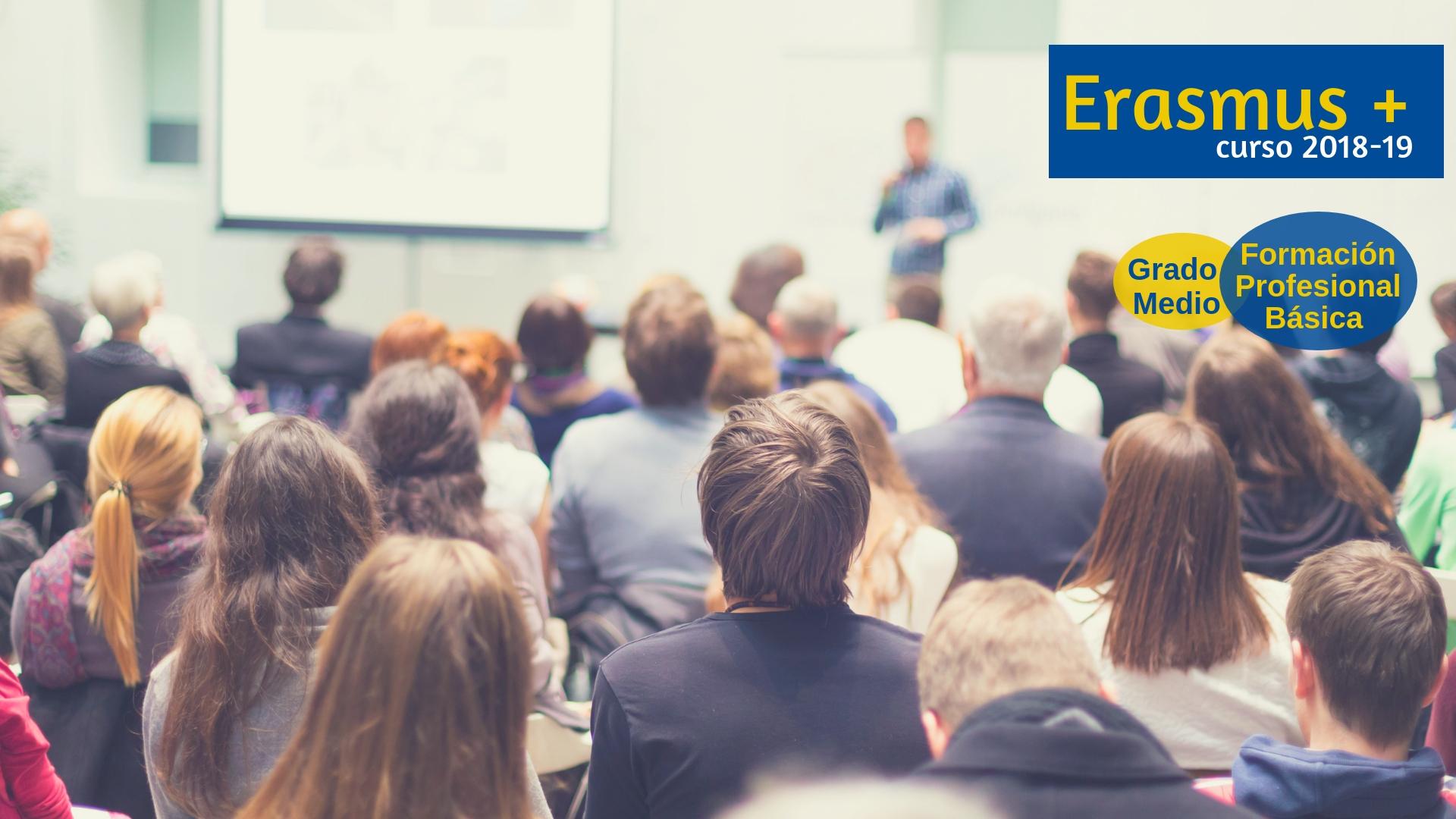 Listado provisional de solicitudes admitidas para el programa de prácticas ERASMUS+