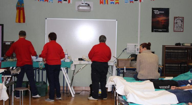 Donación de sangre en la Escuela Profesional La Salle