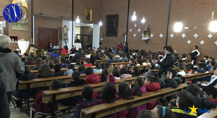 Infantil y Primaria celebran la Navidad en la Parroquia de Nuestra Señora de los Desamparados