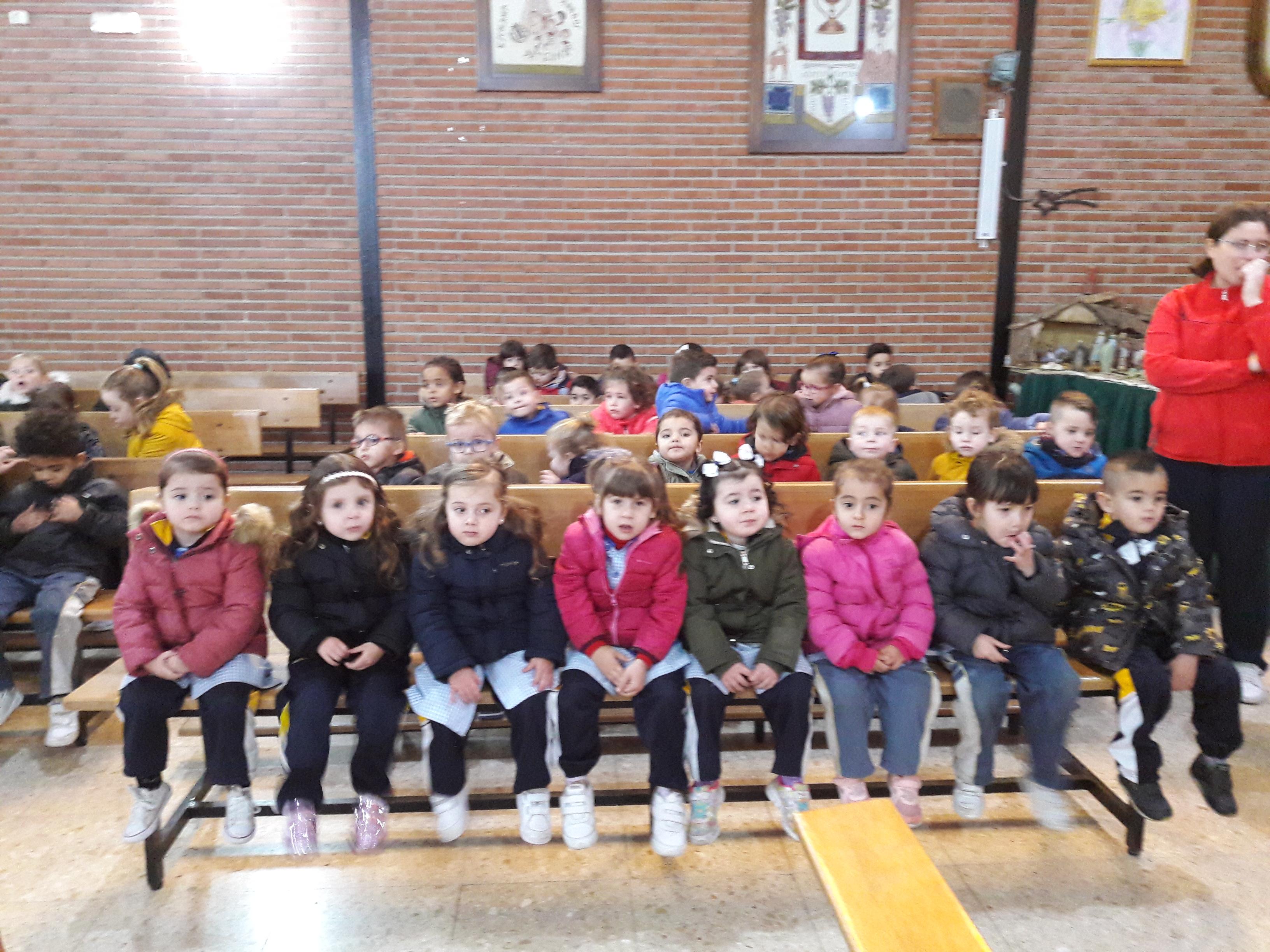 Celebraciones navideñas en la Escuela Infantil Desamparados