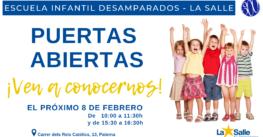 Jornada de Puertas Abiertas en la Escuela Infantil Desamparados