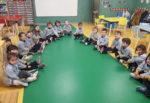 Sesión HARA en el aula de 3 años de infantil