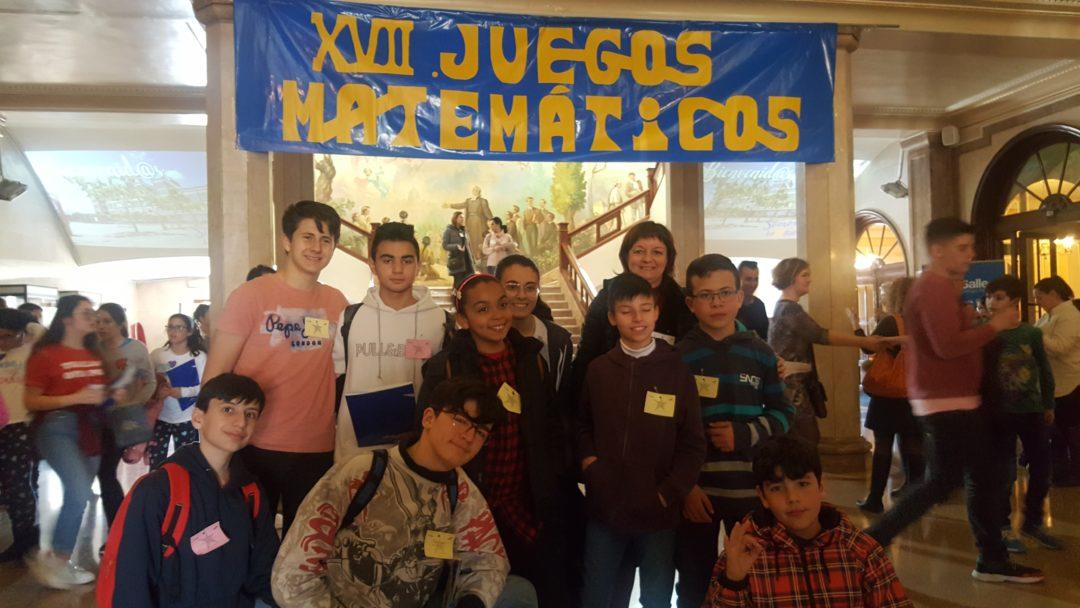 Alumnos de la Escuela participan en los XVII Juegos Matemáticos del Colegio La Salle