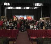 Alumnos de secundaria disfrutan del teatro en francés