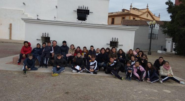 Alumnos de primaria conocen el casco urbano de Paterna