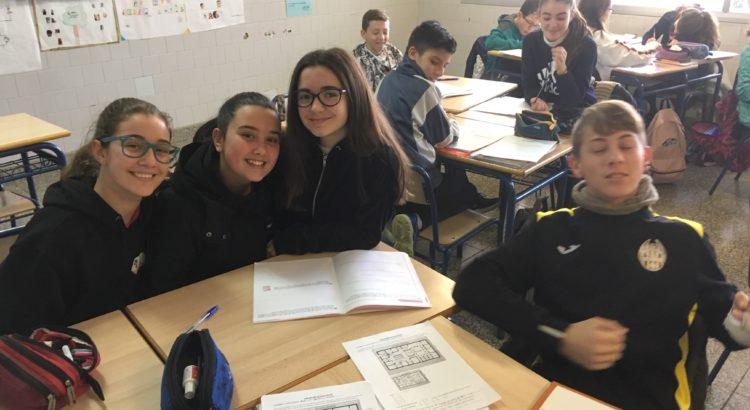 En 1º de ESO descubren la Domus Romana en matemáticas