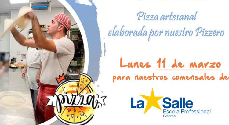 Un pizzero profesional realizará una demostración en el comedor escolar