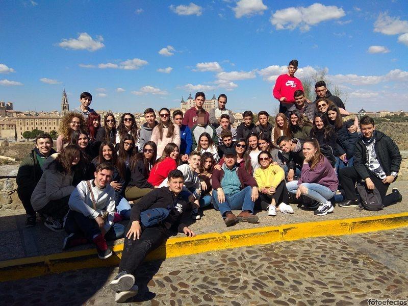 Viaje cultural a Madrid de los alumnos de 4º de ESO