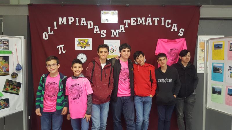Ocho estudiantes participan en la XXX Olimpiada Matemática