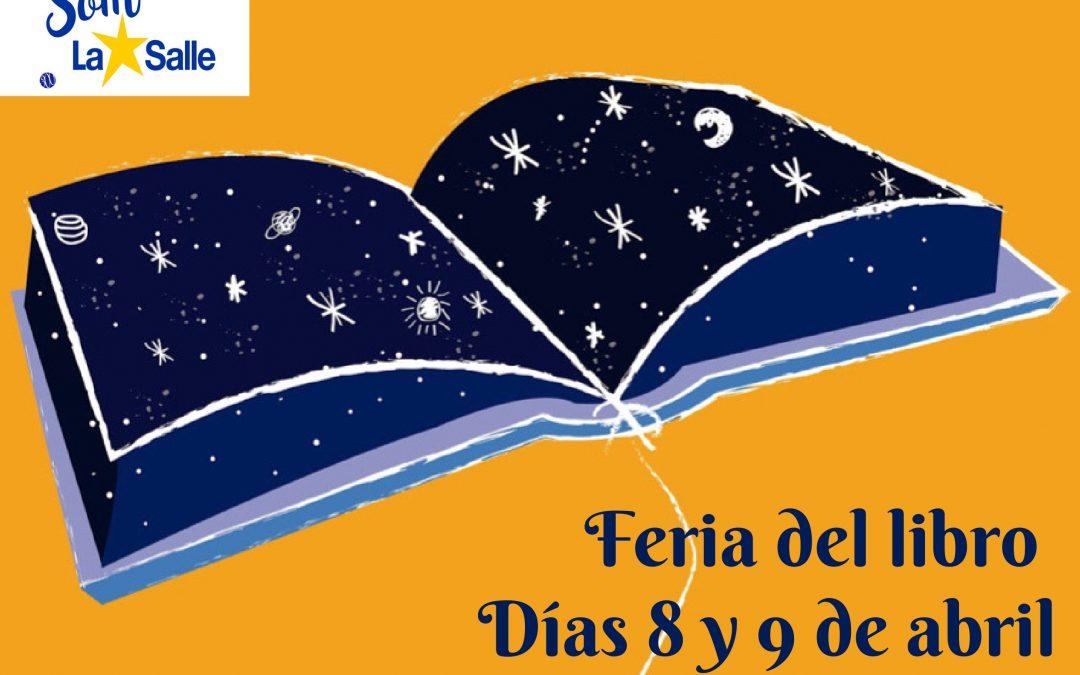 El 8 y el 9 de abril tendrá lugar la Feria del Libro en la Escuela Profesional La Salle
